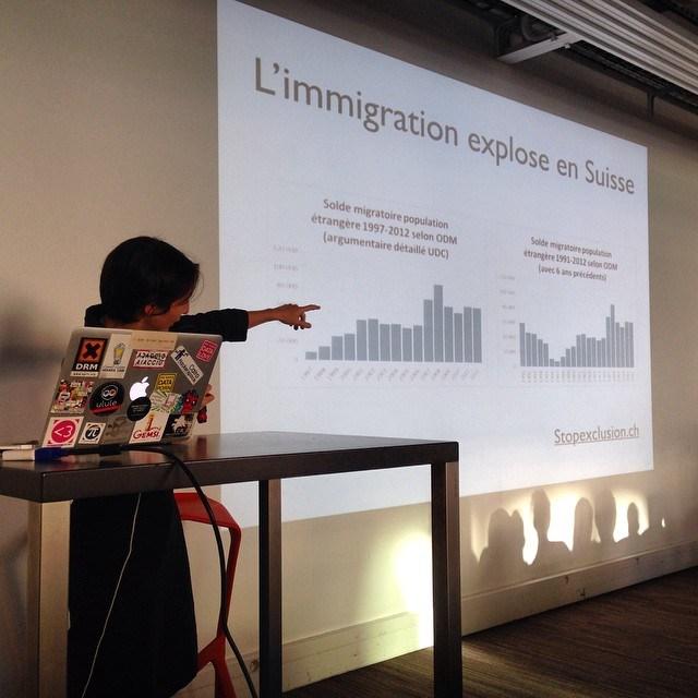 événement databullshit à Pas sage en Seine 2015